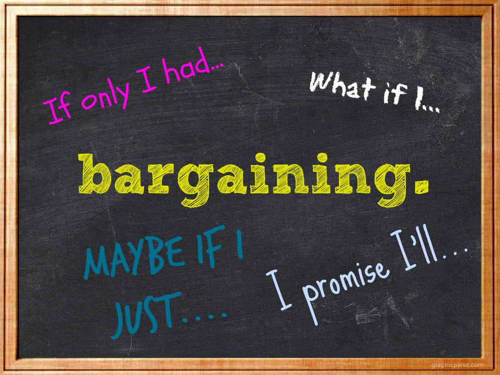 bargaining chalkboard