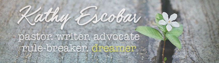 Kathy Escobar Blog Header